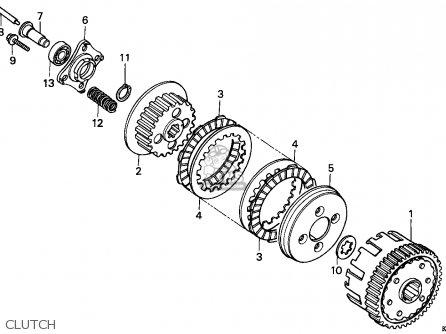 Honda CG125 1993 (P) GENERAL EXPORT / KPH parts lists and