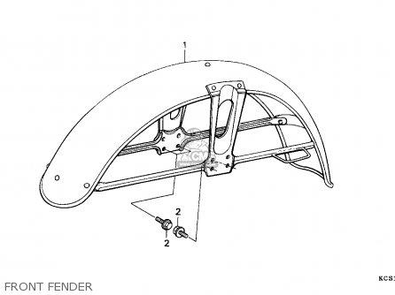 Honda Motorcycle Fender Honda Engine Wiring Diagram ~ Odicis