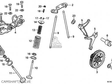 Honda CG125 1993 (P) SINGAPORE parts lists and schematics