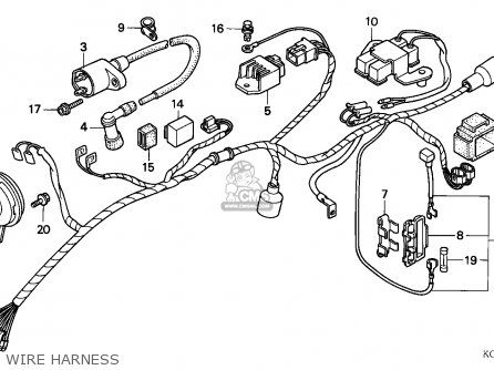 Honda Cg125 1993 Singapore parts list partsmanual partsfiche