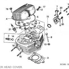 1976 Honda Cb750 Wiring Diagram Tele Humbucker Cg125 1995 S England Parts Lists And Schematics Cylinder Head Cover