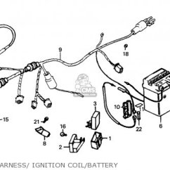 1976 Honda Cb750 Wiring Diagram 2004 Jeep Tj Fuel Pump Cg125 1995 S England Parts Lists And Schematics Wire Harness Ignition Coil Battery