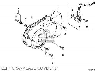Honda Cg125 1998 (w) Germany / Kph Sl parts list
