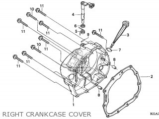 Honda CG125ES 2004 (4) ENGLAND parts lists and schematics