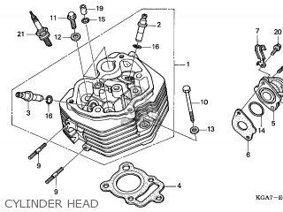Honda CG125ES 2004 (4) EUROPEAN DIRECT SALES ENGLAND parts