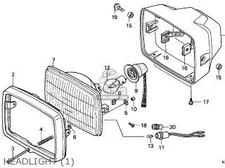 Honda CG125M 2001 (1) FRANCE / KPH parts lists and schematics