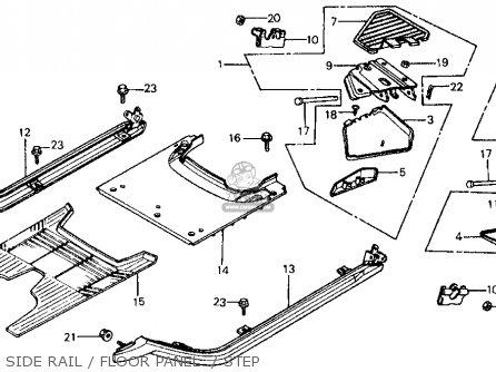 Honda CH125 ELITE 125 1984 (E) USA parts lists and schematics