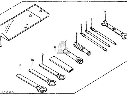 Honda Ch125 Elite 125 1984 (e) Usa parts list partsmanual partsfiche