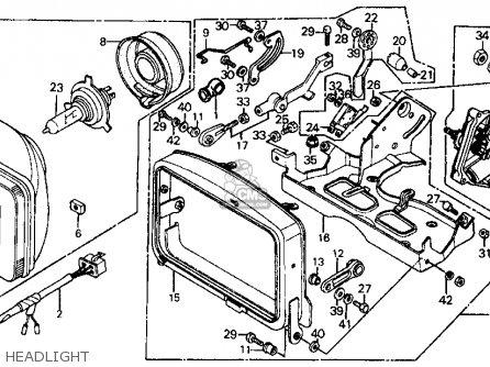 Honda Ch125 Elite 125 Usa parts list partsmanual partsfiche