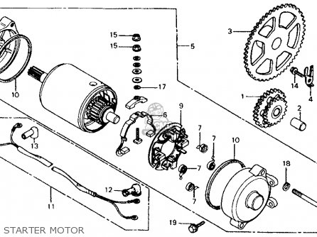 Honda Elite Ch 125 Wiring Diagram Honda Elite 80 Wiring