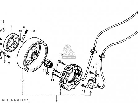 Honda CH150 ELITE 150 1985 (F) USA parts lists and schematics