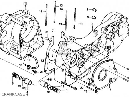 Honda CH150 ELITE 150 1985 (F) USA parts lists and schematics