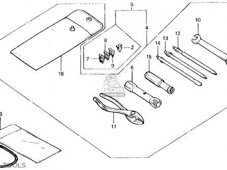 Honda Ch150 Elite 150 1985 (f) Usa parts list partsmanual