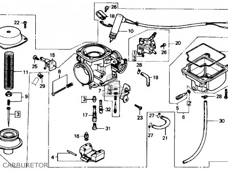 Honda CH150 ELITE 150 1987 (H) USA parts lists and schematics