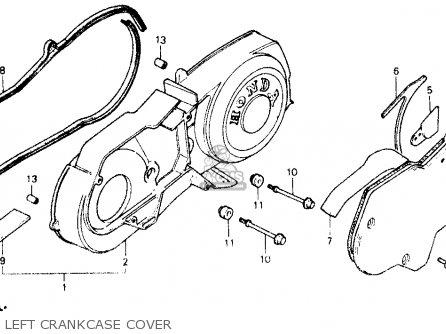 Honda Ch150 Elite 150 1987 (h) Usa parts list partsmanual