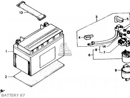 Honda Ch150 Elite 150 1987 Usa parts list partsmanual