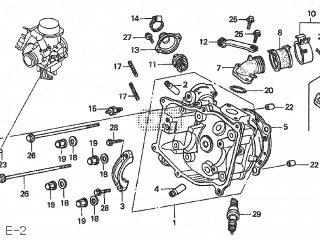 Honda CH250 1993 (P) FREEWAY JAPAN TYPE 2 MF03-110 parts