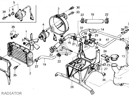 Honda Ch250 Elite 250 1985 (f) Usa parts list partsmanual