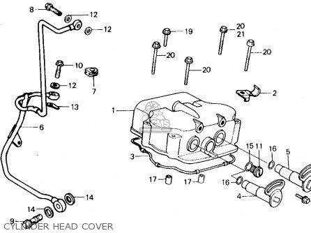 Honda Ch250 Elite 250 1985 Usa parts list partsmanual