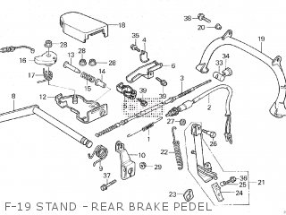 Honda CH250 SPACY ELITE 1985 (F) parts lists and schematics