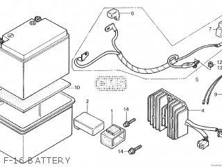 Honda CH250 SPACY ELITE 1986 (G) parts lists and schematics
