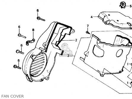 Honda Ch80 Elite 80 1988 Usa parts list partsmanual partsfiche