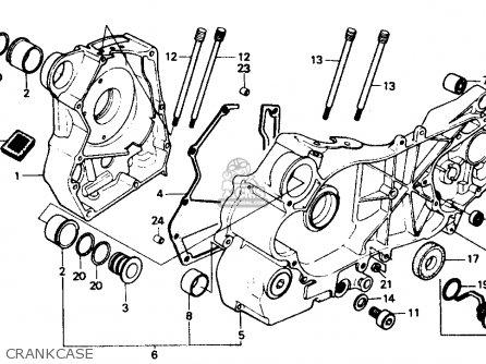 Honda CH80 ELITE 80 1990 (L) USA parts lists and schematics