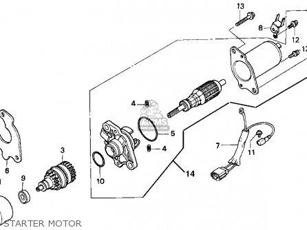 Honda CH80 ELITE 80 1995 (S) USA parts lists and schematics