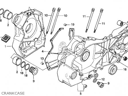 Honda Small Engine Carburetor Diagram Gx390 Parts Honda