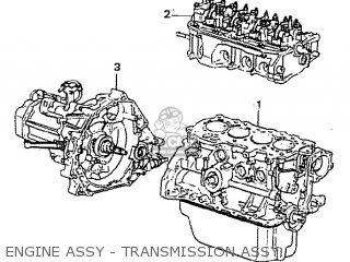 Honda Civic 1200 (eb3) 1978 2d-4s parts list partsmanual