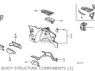 Honda CIVIC 1200 EB3 1978 3D 5S (KC) parts lists and