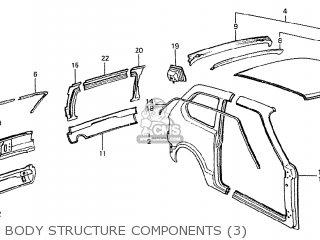 Honda CIVIC 1200 EB3 1979 (Z) 2D 4S (KB KC KW KU KT KS KQ