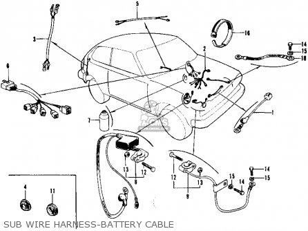 Honda CIVIC 1973 2DR1200 (KA) parts lists and schematics