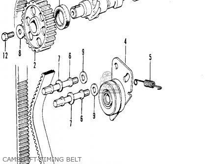 Honda CIVIC 1974 2DR1200 (KA) parts lists and schematics