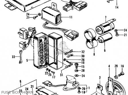 Honda Civic 1974 2dr1200 (ka) parts list partsmanual