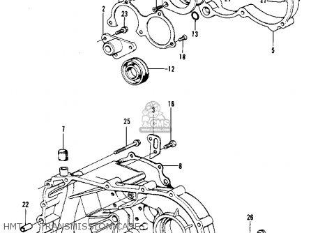 Honda Civic 1975 2dr1200 (ka) parts list partsmanual