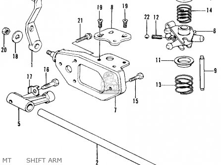 Honda Civic 1976 3dr1200 (ka) parts list partsmanual