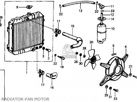 Honda Civic 1977 2dr1200 (ka) parts list partsmanual