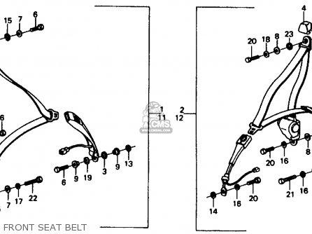 Honda CIVIC 1977 3DR1200 (KA) parts lists and schematics