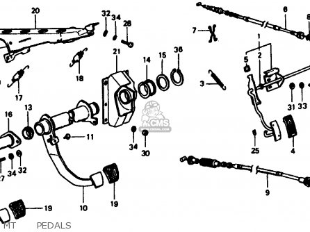 Honda Civic 1977 3dr1200 (ka) parts list partsmanual