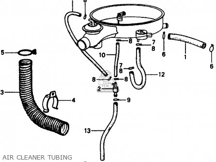 Honda Civic 1978 2dr1200 (ka) parts list partsmanual