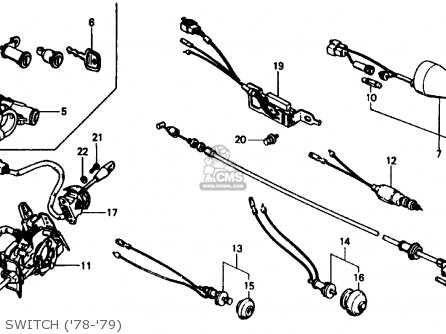 Honda CIVIC 1978 3DR1200 (KA) parts lists and schematics