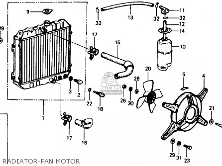 Honda Civic 1979 2dr1200 (ka) parts list partsmanual