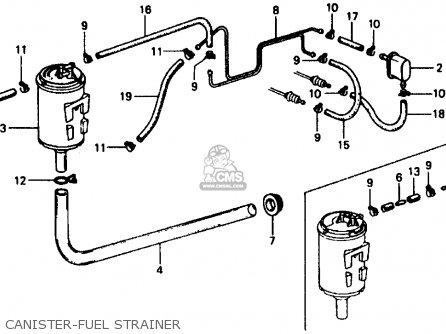 Honda CIVIC 1979 (Z) 3DR1200 (KA) parts lists and schematics