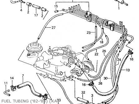 Honda CIVIC 1982 (C) 4DR1500 (KA,KH,KL) parts lists and
