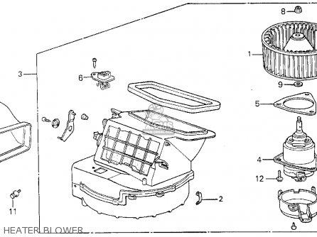 Honda CIVIC 1985 (F) 3DR S 1500 (KA,KL) parts lists and