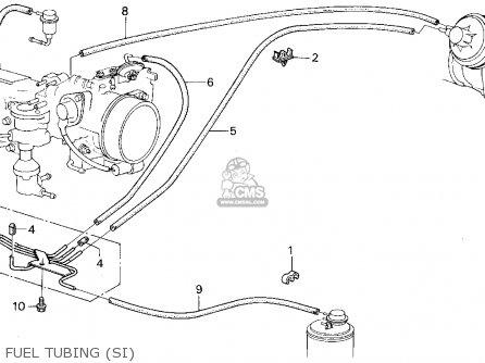Honda Civic 1987 3dr Si 1500 (ka,kl) parts list