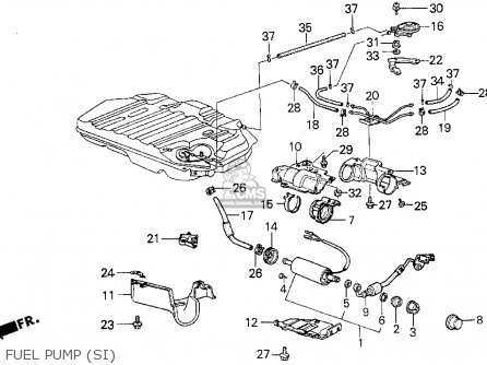 1987 Acura Integra Fuse Box • Wiring Diagram For Free