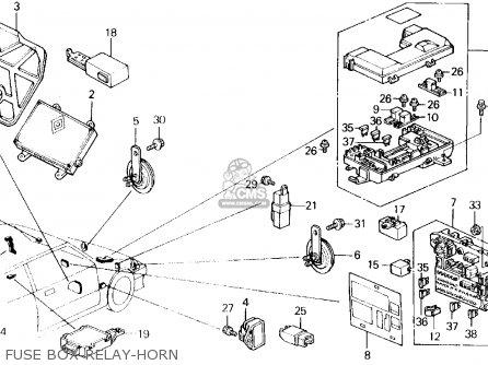Honda Civic 1988 3dr Dx (ka,kl) parts list partsmanual