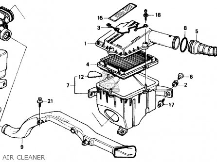 Honda Civic 1988 (j) 4dr Dx (ka,kl) parts list partsmanual